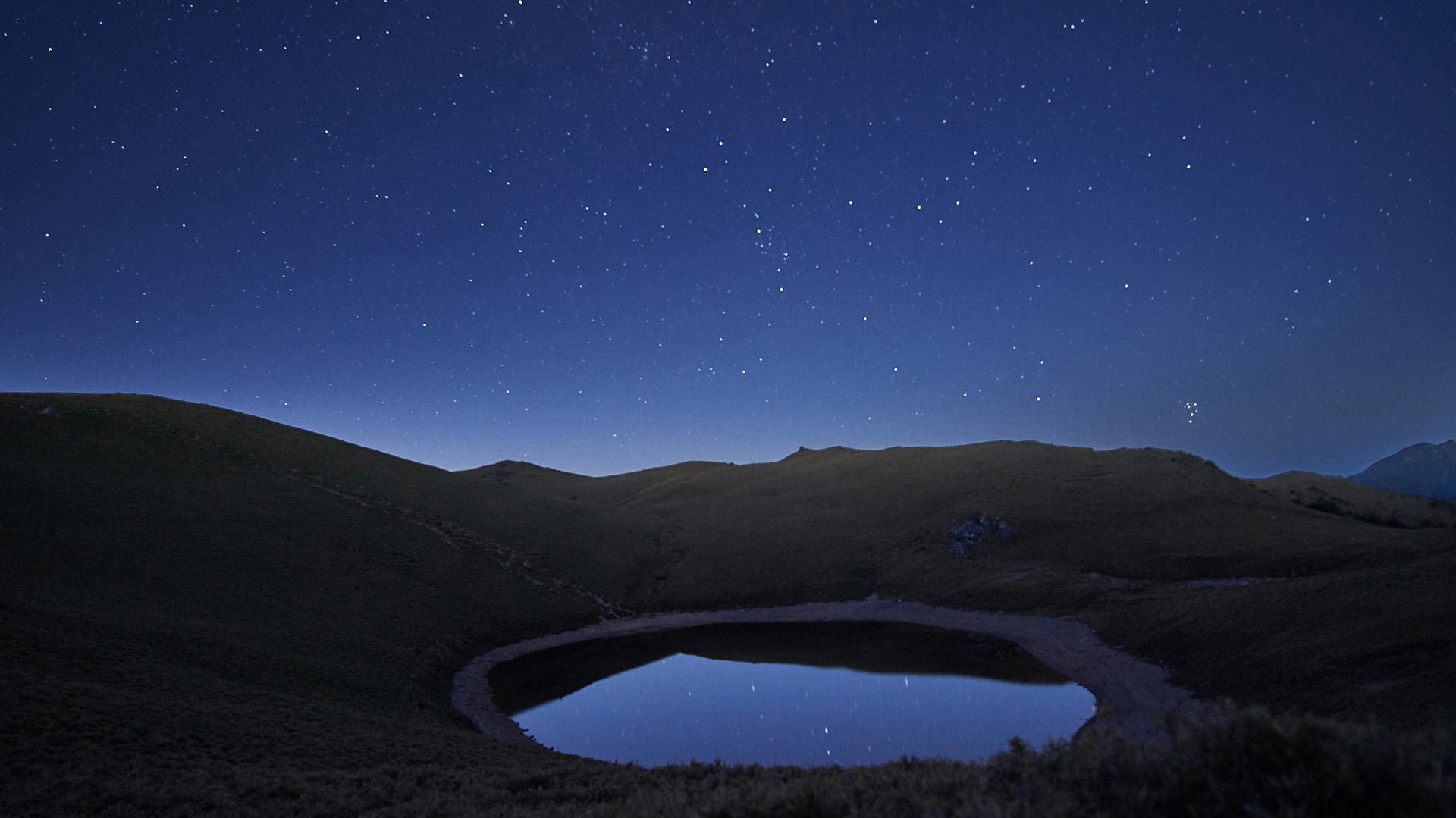 嘉明湖,六、七千年前冰斗湖畔的思考